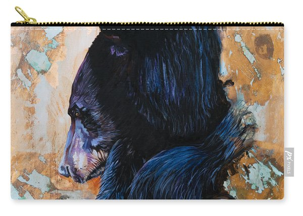 Autumn Bear Carry-all Pouch