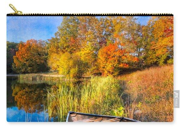 Autumn Canoe Carry-all Pouch