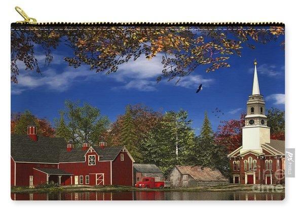 Autumn Church Row Carry-all Pouch