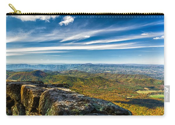 Autumn Colors In The Blue Ridge Mountains Carry-all Pouch
