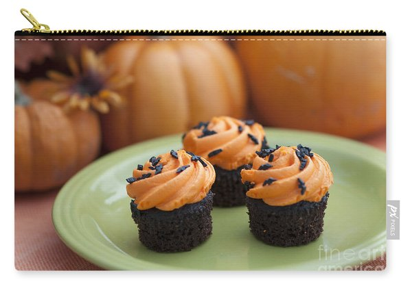 Autumn Cupcakes Carry-all Pouch