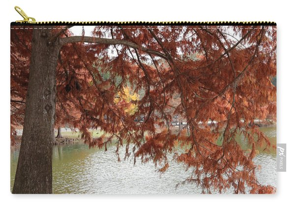 Autumn Cypress On Lake Ella Carry-all Pouch