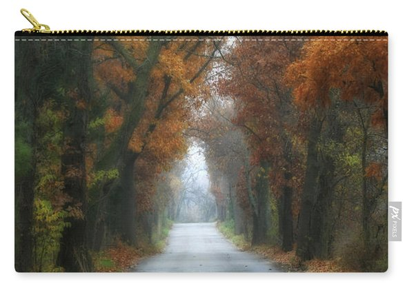 Autumn Drive Carry-all Pouch