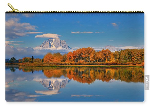Autumn Foliage At The Oxbow Carry-all Pouch