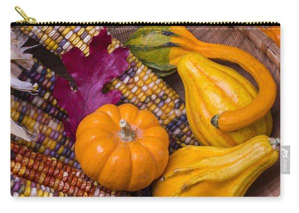 Autumn Harvest Still Life Carry-all Pouch