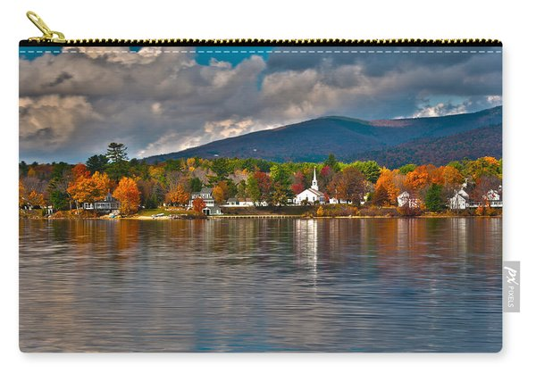Autumn In Melvin Village Carry-all Pouch