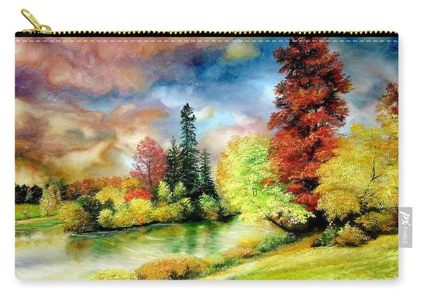 Autumn In Park Carry-all Pouch