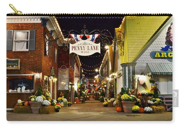 Autumn In Penny Lane - Rehoboth Beach Delaware Carry-all Pouch