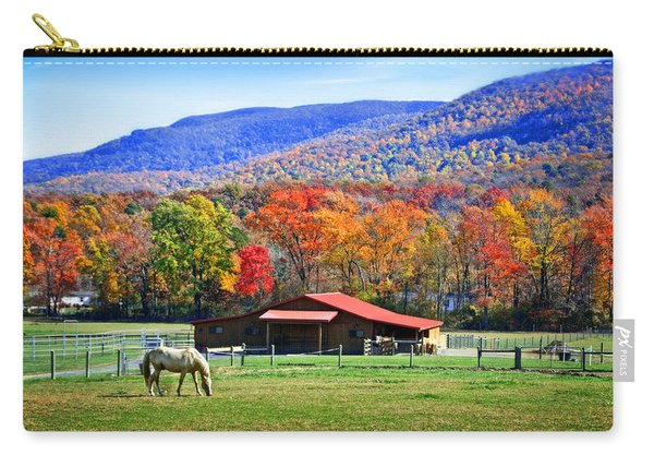 Autumn In Rural Virginia  Carry-all Pouch