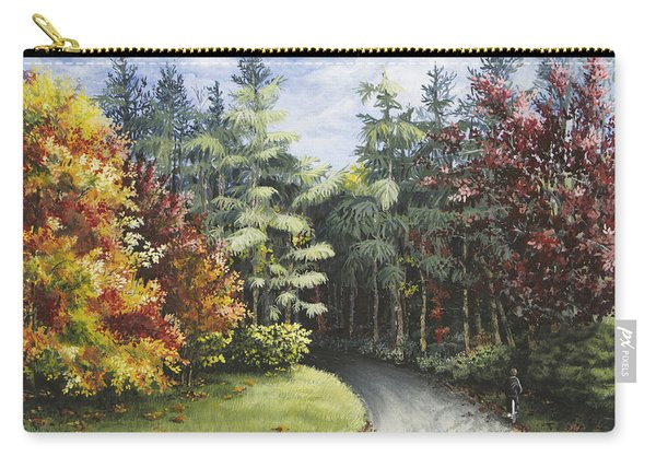 Autumn In The Arboretum Carry-all Pouch