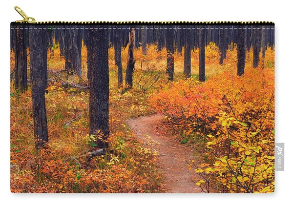 Autumn In Yellowstone Carry-all Pouch