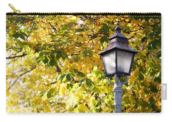 Autumn Lamp Post Carry-all Pouch