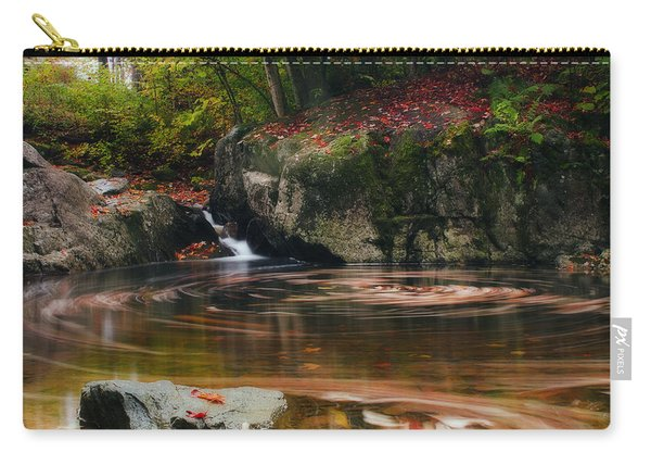 Autumn Leaf Trails Carry-all Pouch