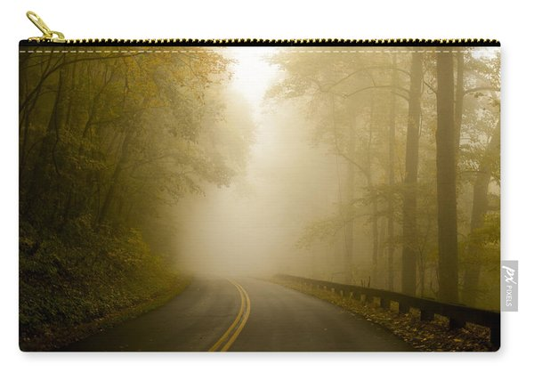 Autumn Mist Blue Ridge Parkway Carry-all Pouch