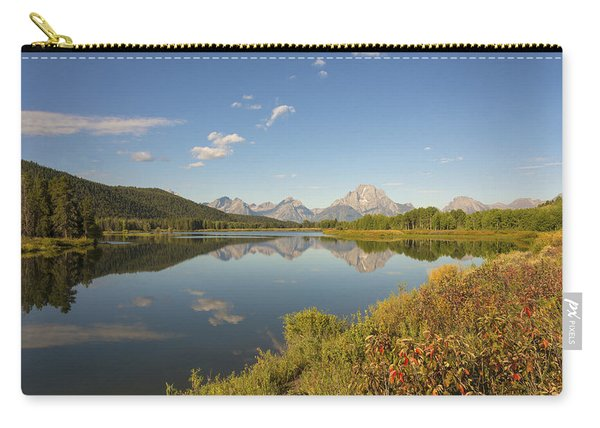 Autumn On Oxbow Bend - Mount Moran - Grand Teton National Park Wyoming Carry-all Pouch