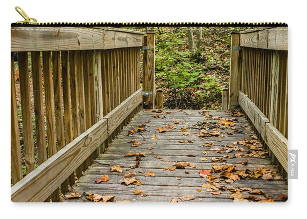 Autumn On The Bridge Carry-all Pouch
