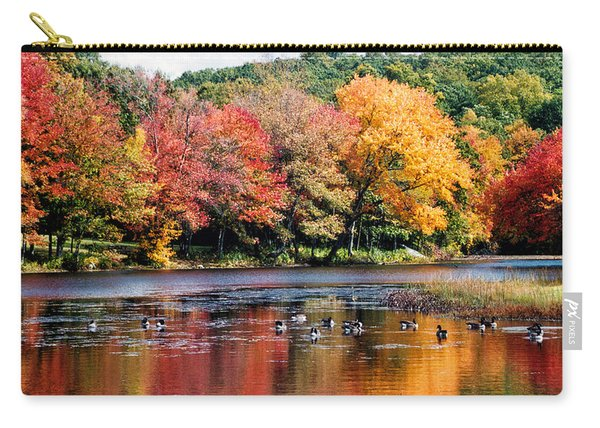 Autumn Pond Carry-all Pouch