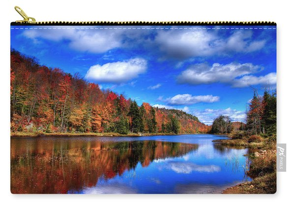 Autumn Reflections On Bald Mountain Pond Carry-all Pouch