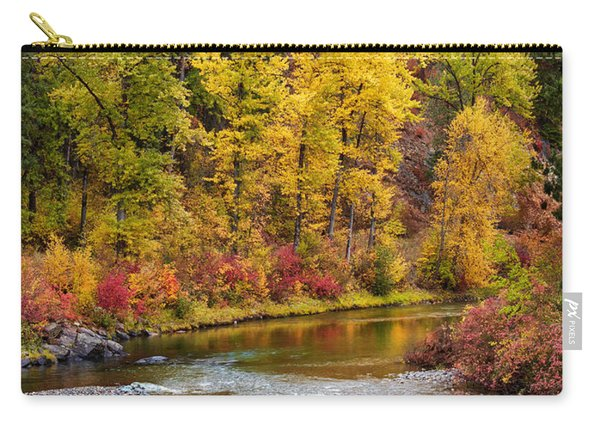 Autumn River Carry-all Pouch