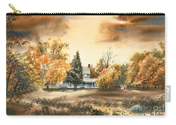 Autumn Sky No W103 Carry-all Pouch