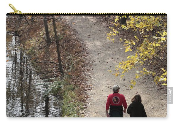Autumn Walk On The C And O Canal Towpath Carry-all Pouch