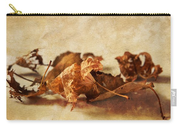 Autumn's Leavings Carry-all Pouch