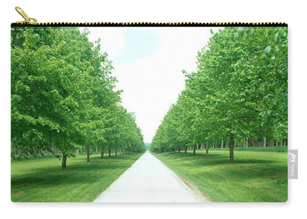 Avenue At Chateau De Modave Ardennes Carry-all Pouch