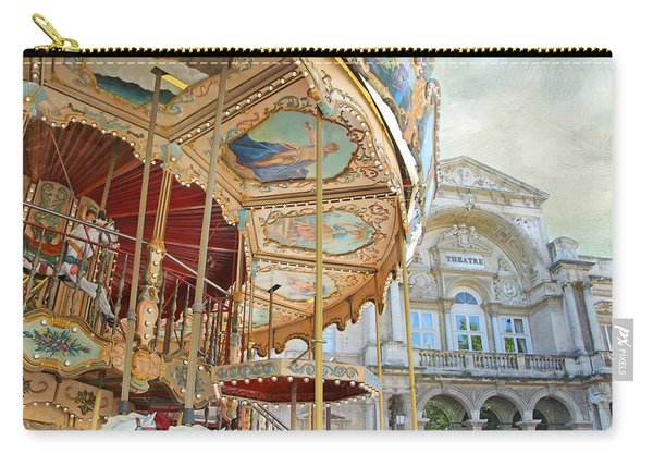 Avignon Carousel Carry-all Pouch