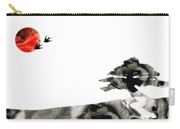 Awakening - Zen Landscape Art Carry-all Pouch