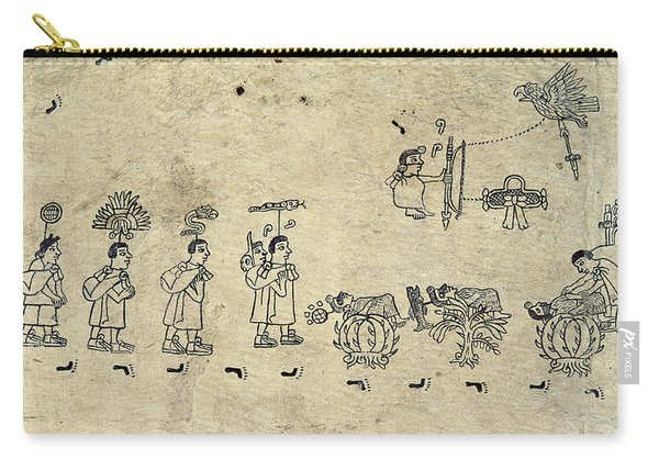 Aztec Priests Carry-all Pouch
