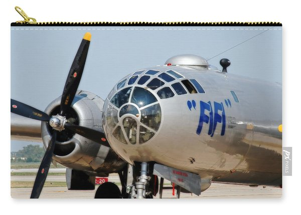 B-29 Bomber Fifi Carry-all Pouch
