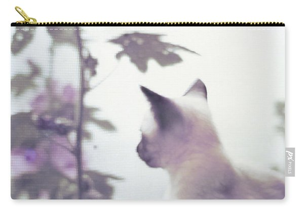 Baby Siamese Kitten Carry-all Pouch