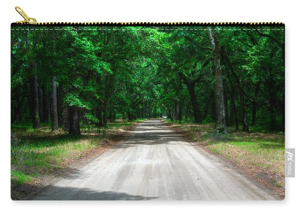 Carry-all Pouch featuring the photograph Back Roads Of South Carolina by Michael Colgate