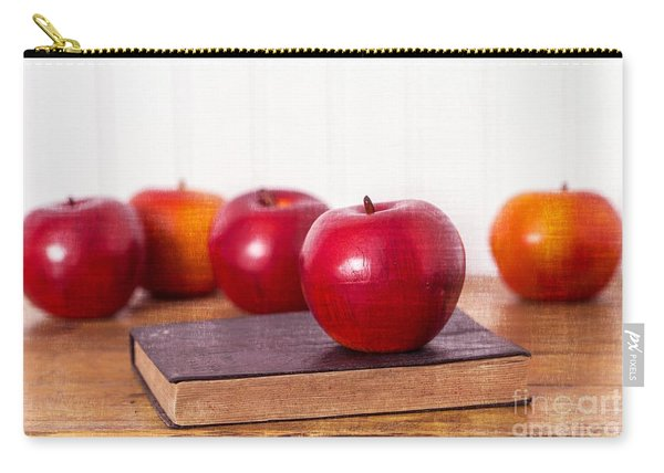 Back To School Apples Carry-all Pouch
