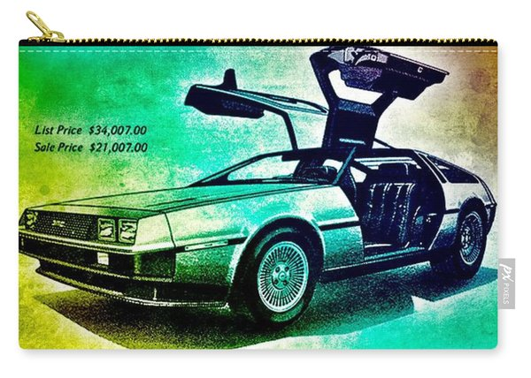 Back To The Delorean Carry-all Pouch