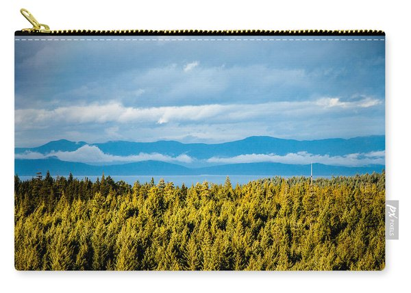 Backroad Ocean View Carry-all Pouch