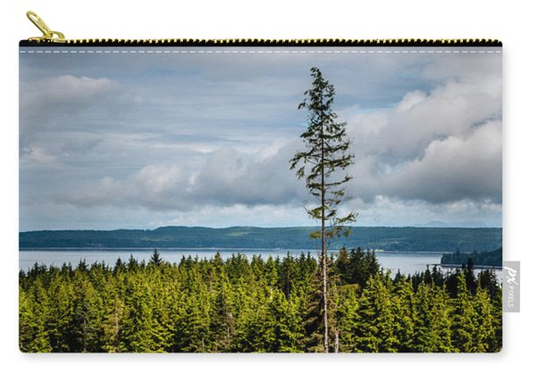 Logging Road Ocean View  Carry-all Pouch