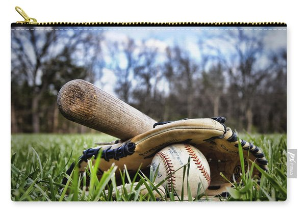 Backyard Baseball Memories Carry-all Pouch