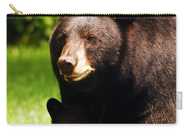 Backyard Bears Carry-all Pouch