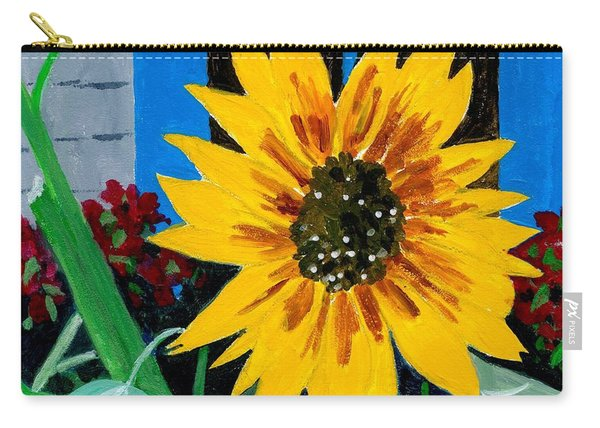 Backyard Flowers  Carry-all Pouch