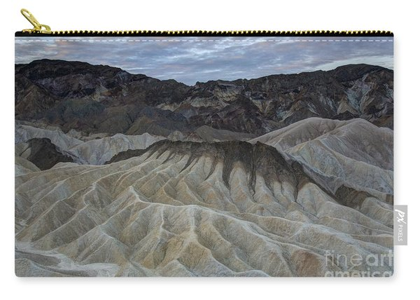 Badlands At Sunrise. Death Valley Carry-all Pouch