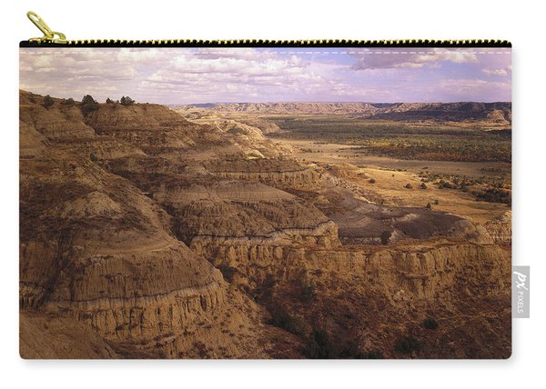 Badlands In Theodore Roosevelt National Carry-all Pouch
