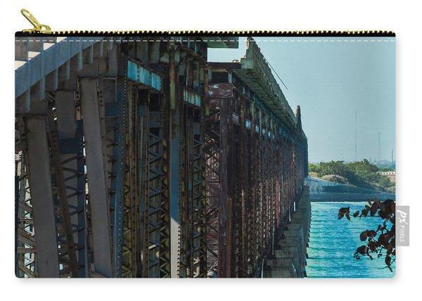 Bahia Honda Bridge Patterns Carry-all Pouch