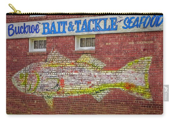Bait Tackle Seafood Shop Detail Carry-all Pouch