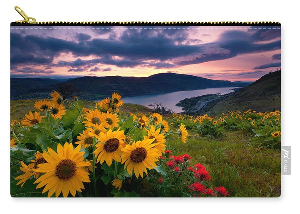 Balsam Root Sunrise Carry-all Pouch