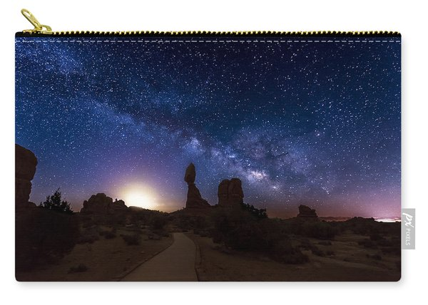 Carry-all Pouch featuring the photograph Balance by Dustin  LeFevre