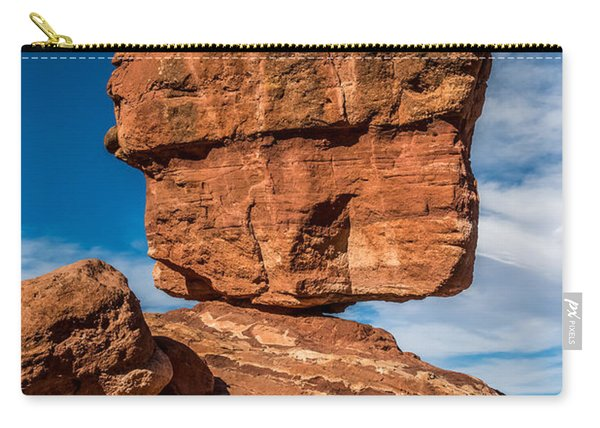Balanced Rock Garden Of The Gods Carry-all Pouch