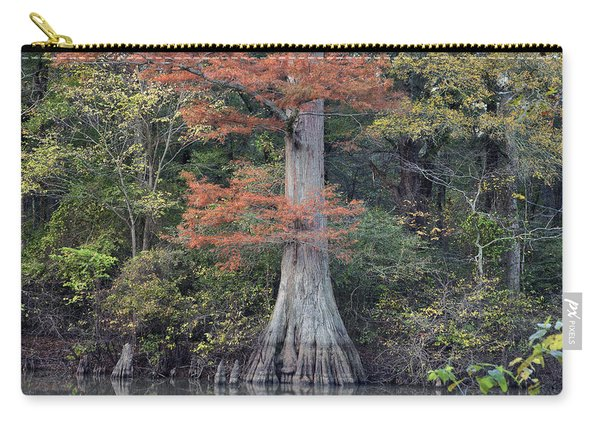 Bald Cypress In White River Nrw Arkansas Carry-all Pouch