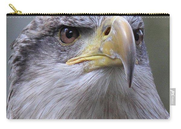 Bald Eagle - Juvenile Carry-all Pouch