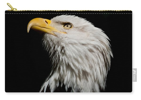 Bald Eagle Looking Skyward Carry-all Pouch